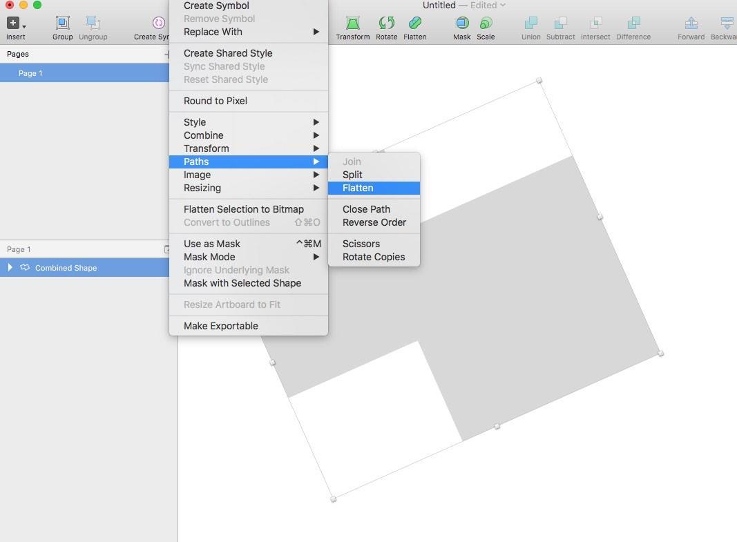 Reset bounding box after rotation — SketchTalk