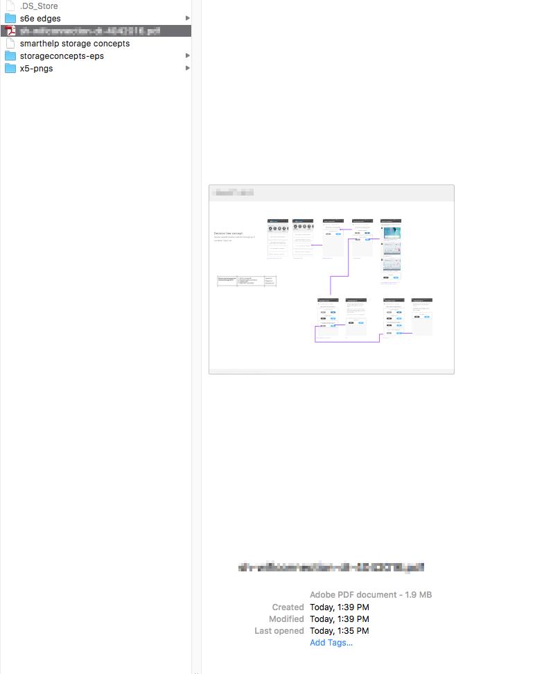Exported PDF is blank — SketchTalk