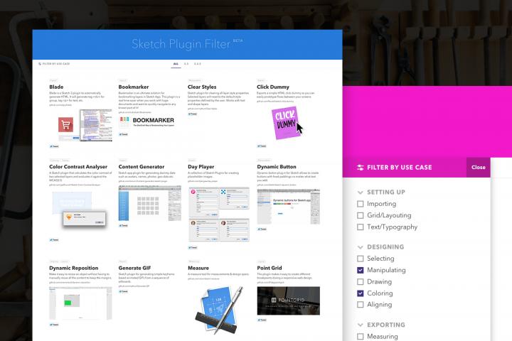 Sketch Plugin Finder (Beta) – filter & find Sketch plugins